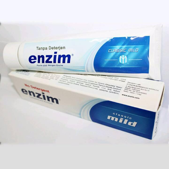 Enzim Original Classic Mild [124g/ 100ml] Toothpaste1