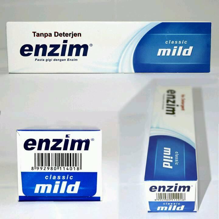 Enzim Original Classic Mild [124g/ 100ml] Toothpaste2