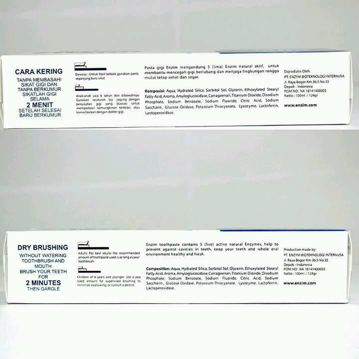 Enzim Original Classic Mild [124g/ 100ml] Toothpaste3