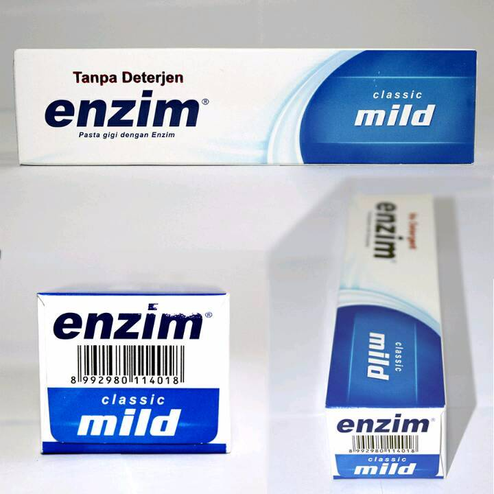 Enzim Original Classic Mild [63g/ 50ml] Toothpaste2