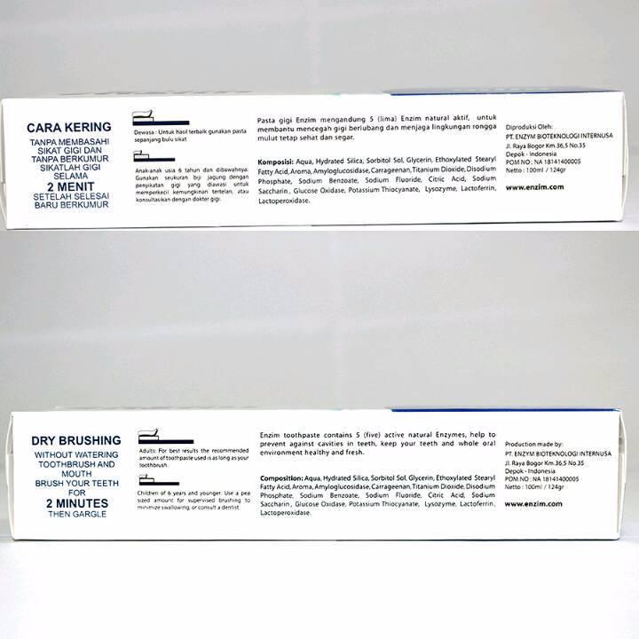 Enzim Original Classic Mild [63g/ 50ml] Toothpaste3