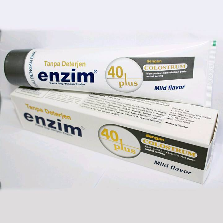 Enzim 40 Plus With Colostrum [124g/ 100ml] Toothpaste1