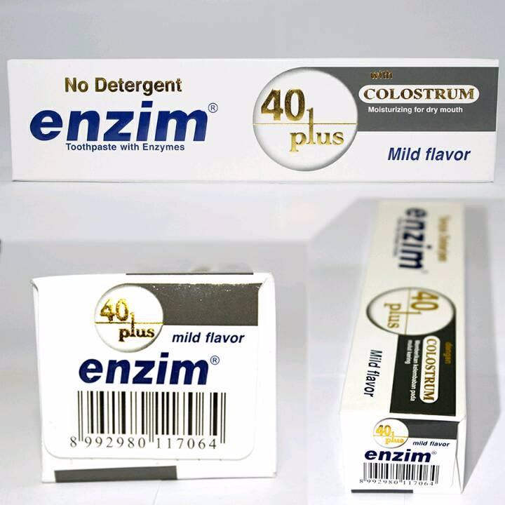 Enzim 40 Plus With Colostrum [124g/ 100ml] Toothpaste2