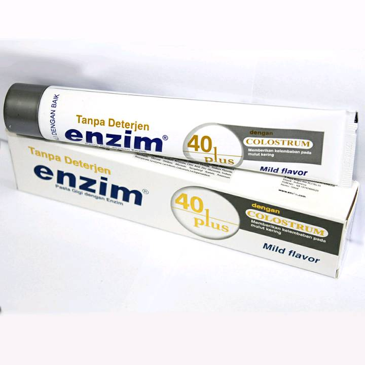 Enzim 40 Plus With Colostrum [63g/ 50ml] Toothpaste1