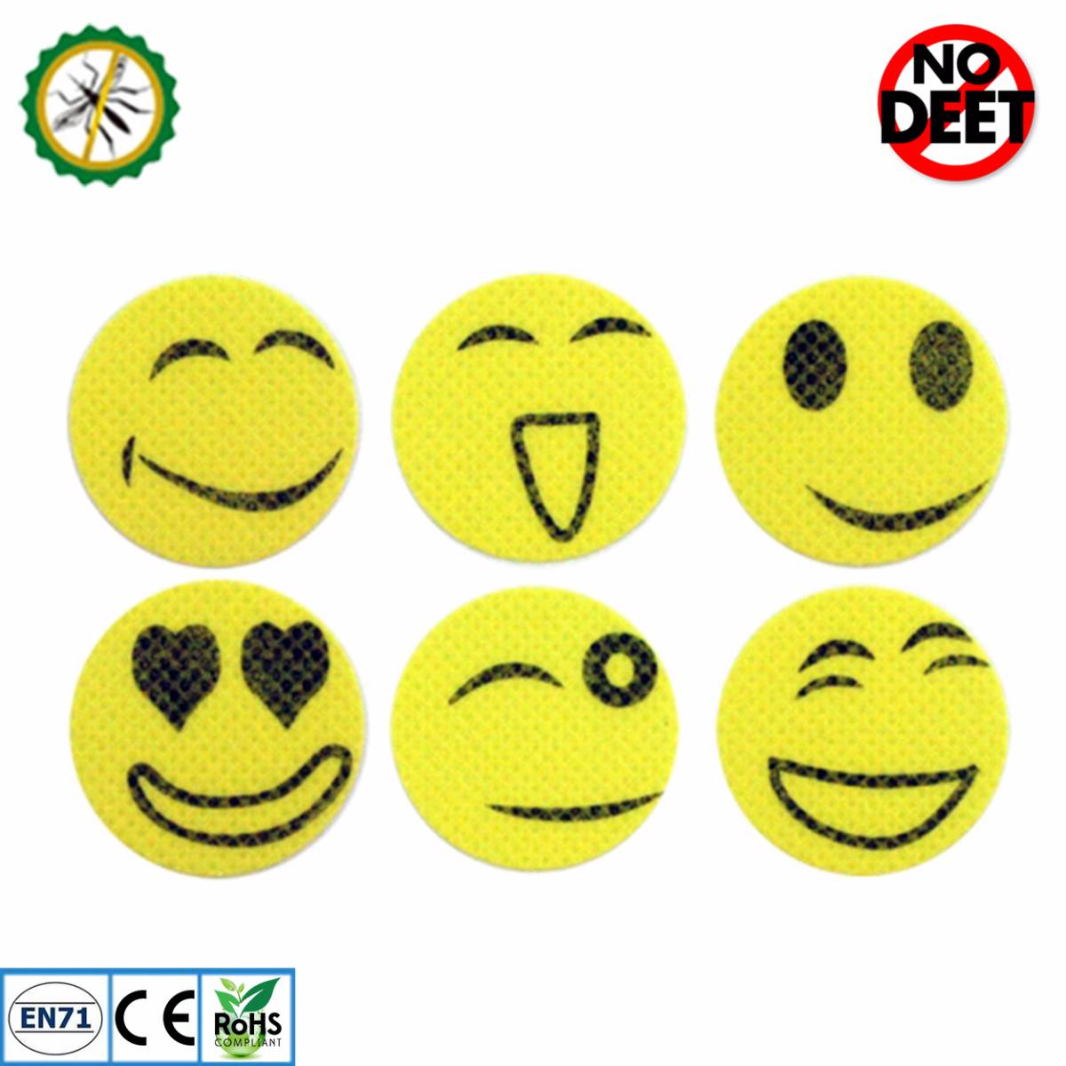 Babygo Mosquito Repellent Patch Smiley (sticker Anti Nyamuk)2