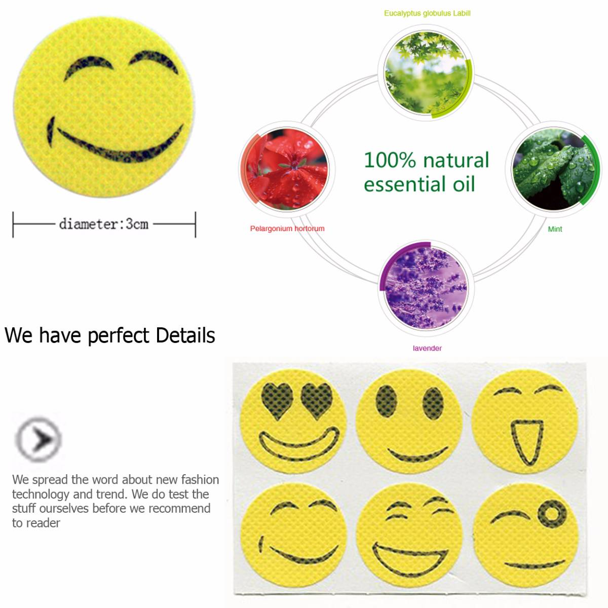 Babygo Mosquito Repellent Patch Smiley (sticker Anti Nyamuk)3