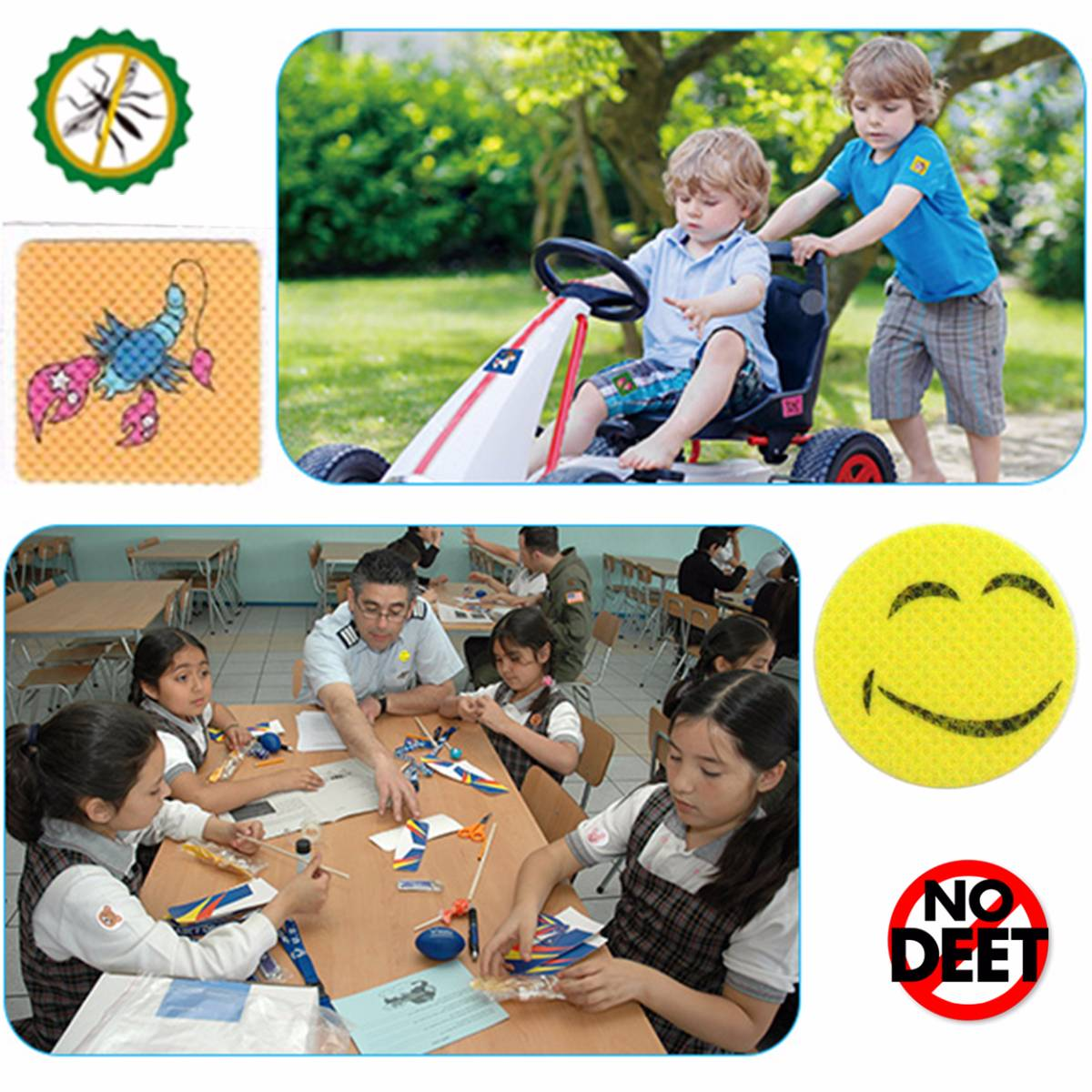 Babygo Mosquito Repellent Patch Smiley (sticker Anti Nyamuk)4