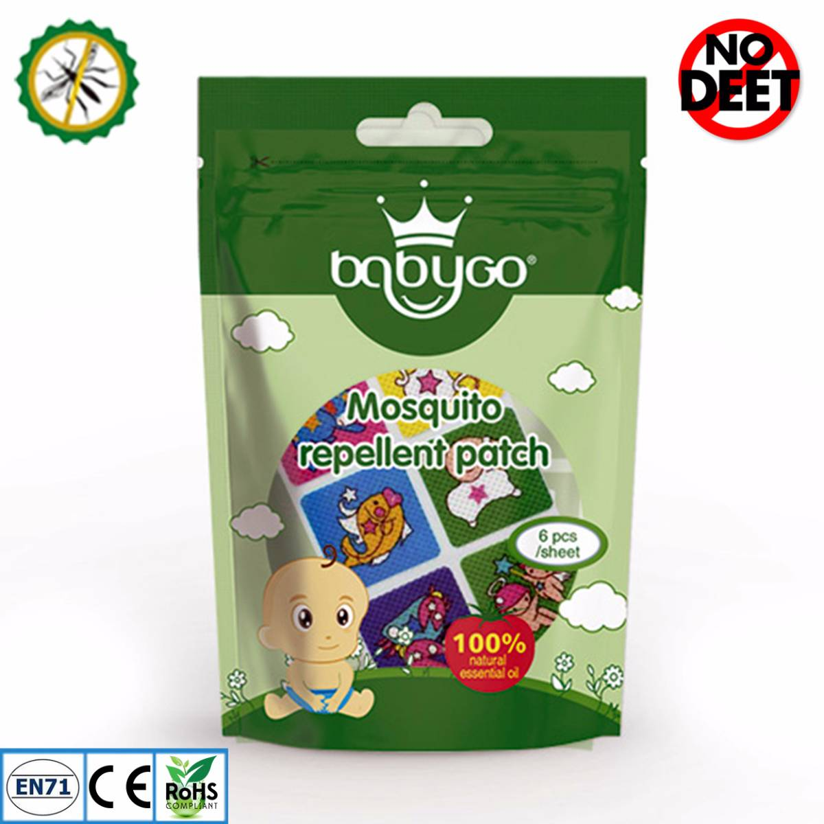 Babygo Mosquito Repellent Patch Zodiac (sticker Anti Nyamuk)