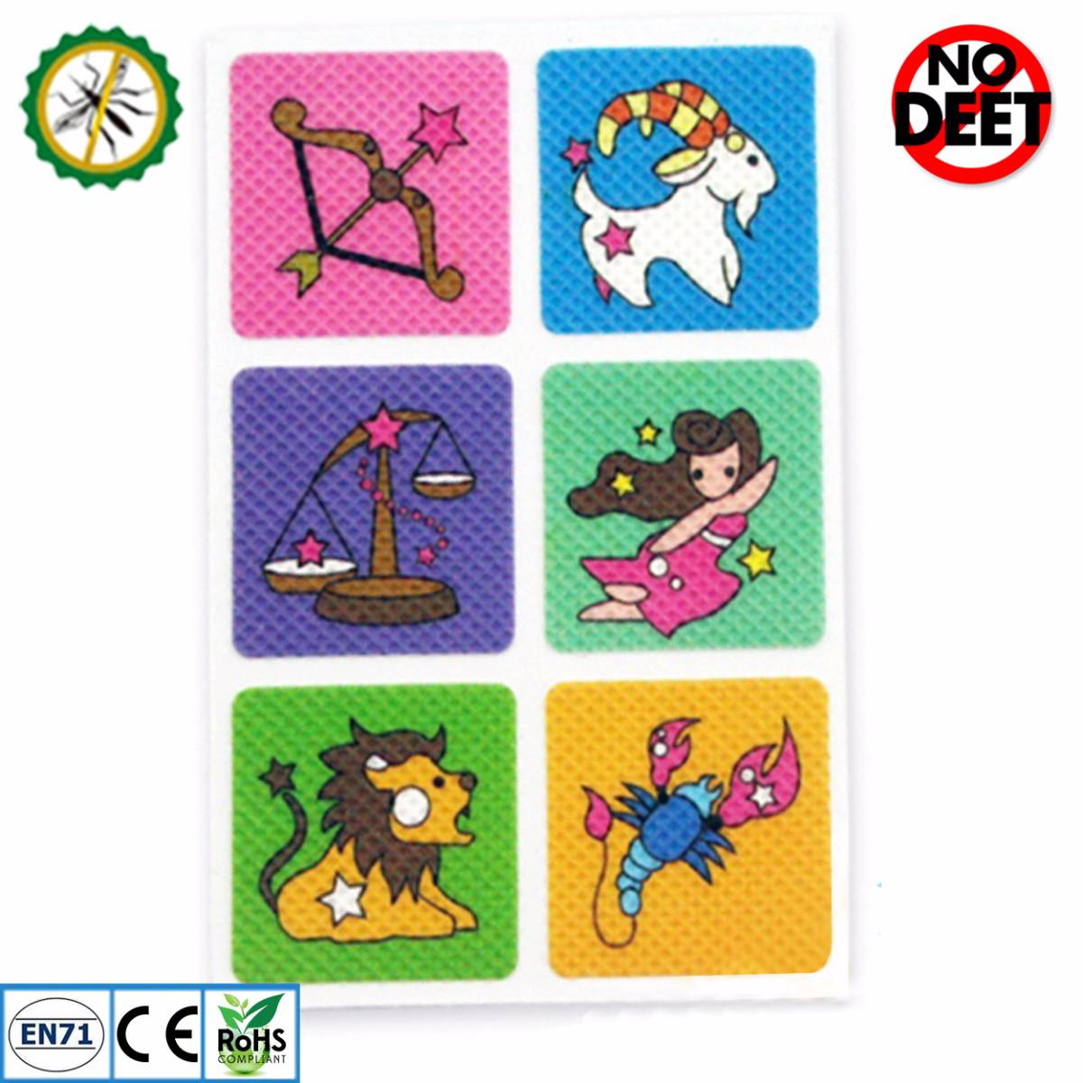 Babygo Mosquito Repellent Patch Zodiac (sticker Anti Nyamuk)2