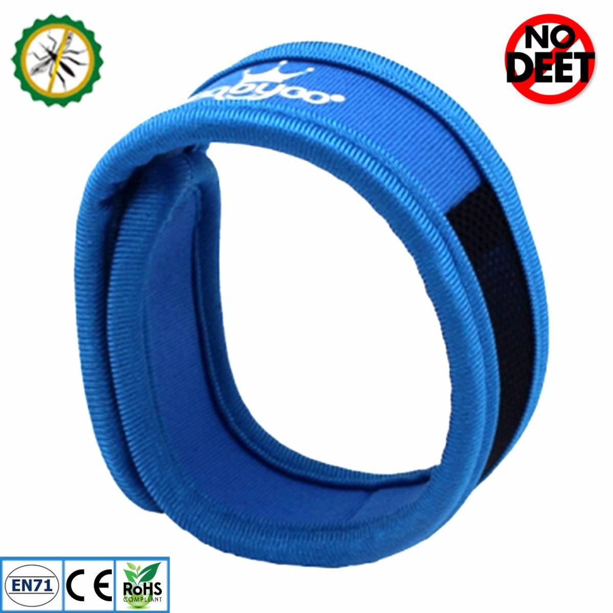 Babygo Neoprene Mosquito Repellent Wristband Blue (gelang Anti Nyamuk)