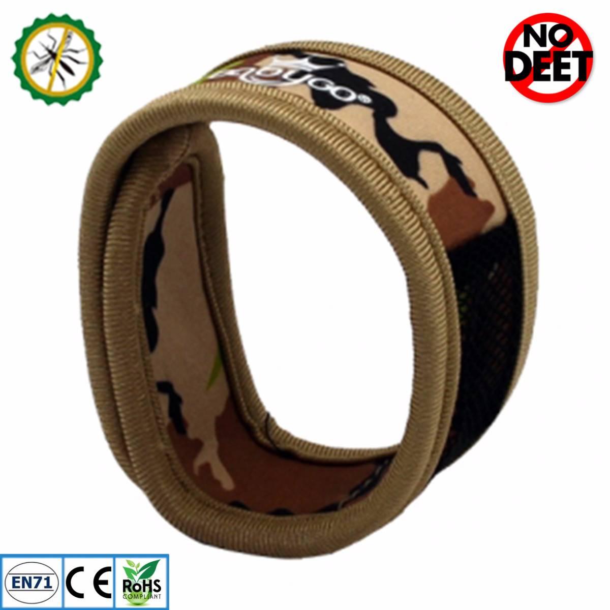 Babygo Neoprene Mosquito Repellent Wristband Camouflage (gelang Anti Nyamuk)