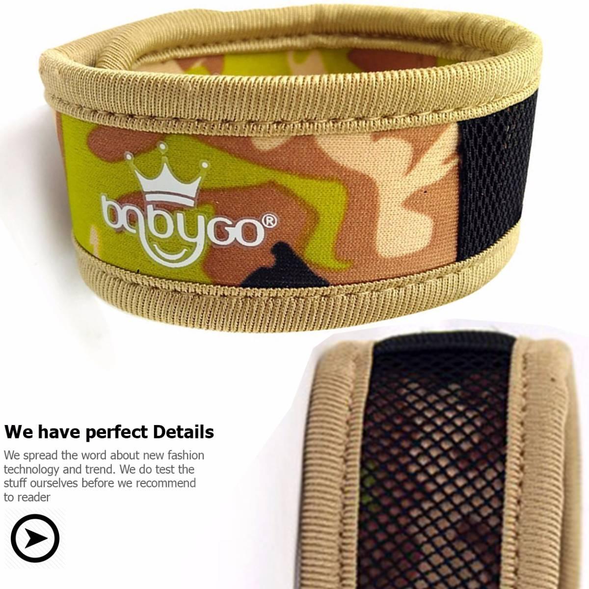 Babygo Neoprene Mosquito Repellent Wristband Camouflage (gelang Anti Nyamuk)1