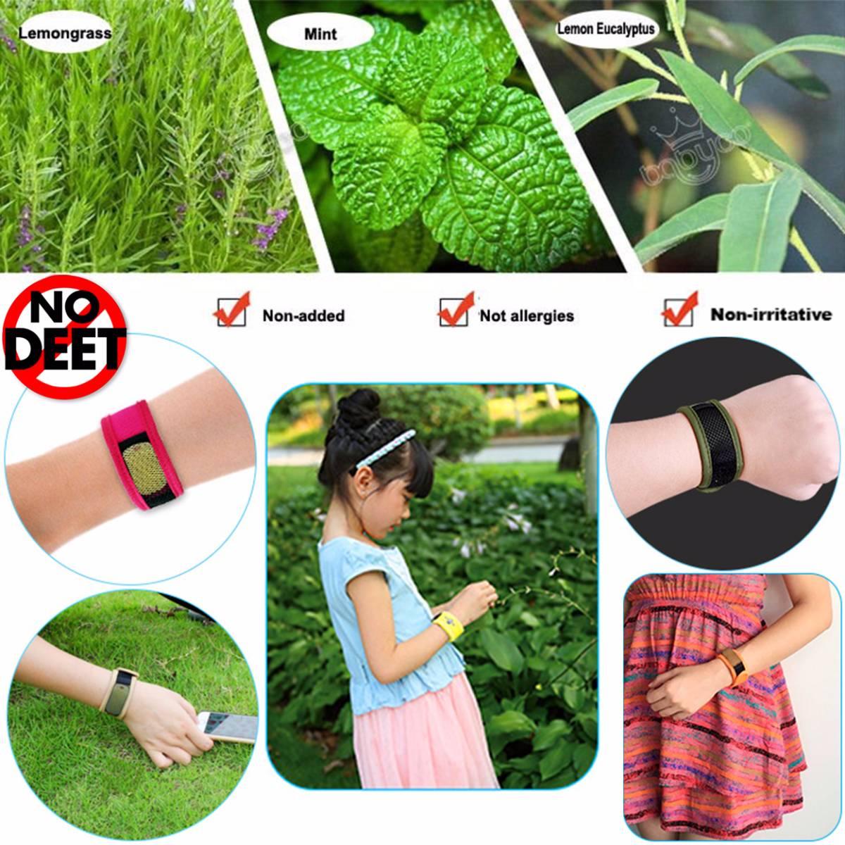 Babygo Neoprene Mosquito Repellent Wristband Camouflage (gelang Anti Nyamuk)2