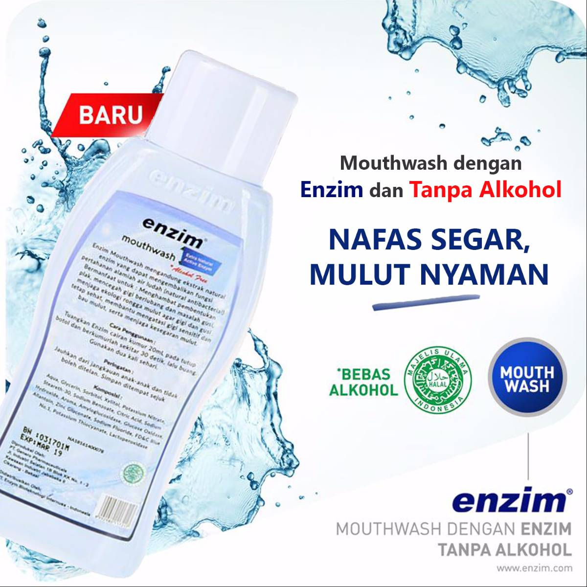 Enzim Mouthwash [275ml]1