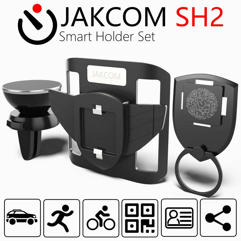 Jakcom Sh2 Smart Holder Set Wearable Ring Hold Phone Sport Arm Band With Car Dock Mount Accessories