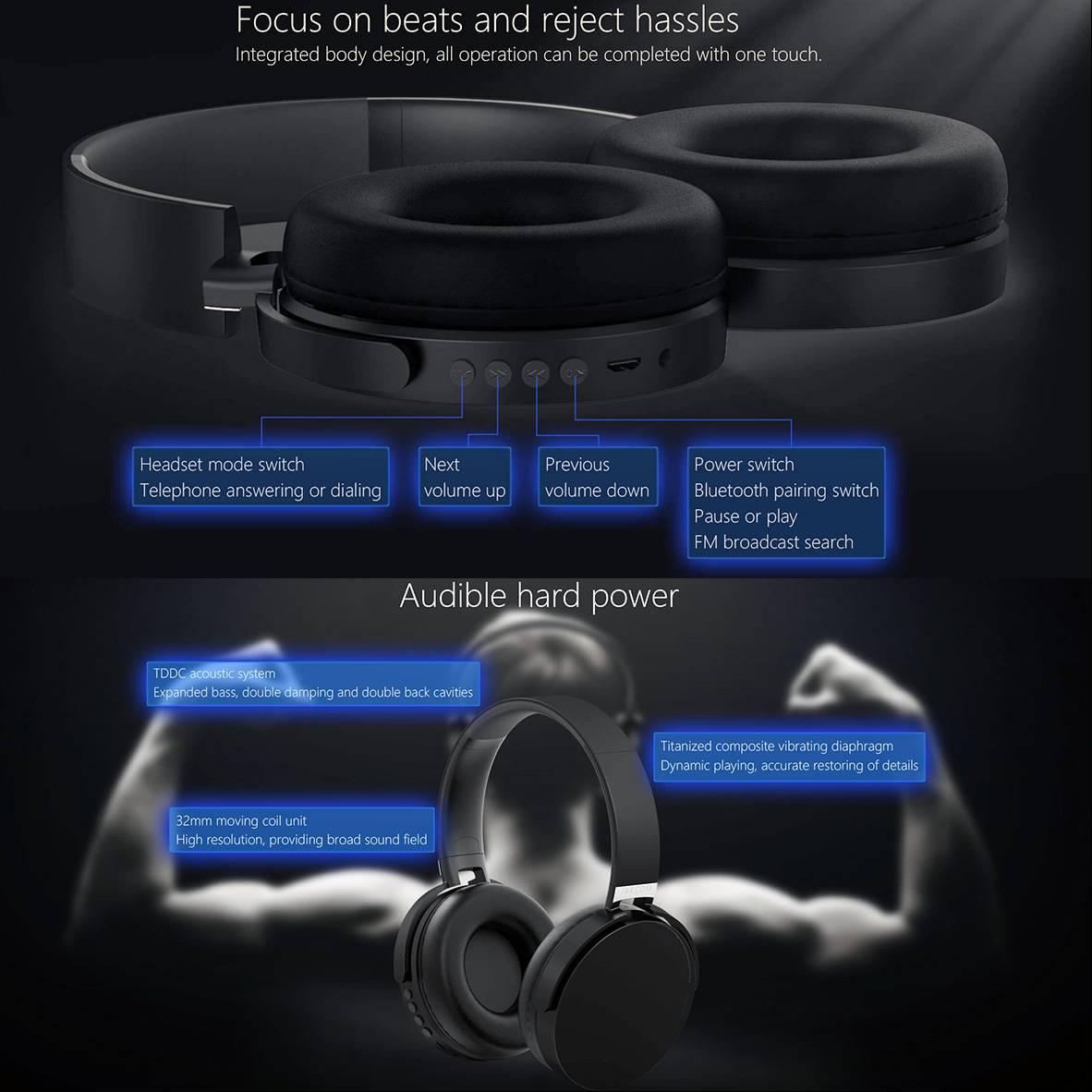 Jakcom Bh2 Smart Bluetooth Headset Wireless Stereo Headphones Earphones With Mic2