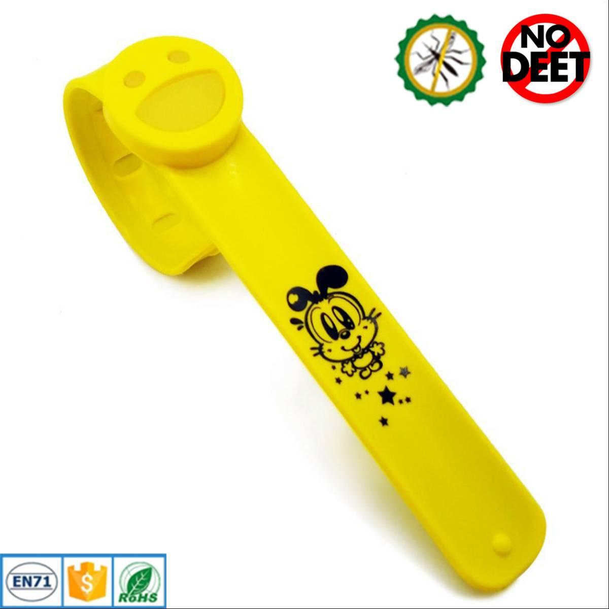 Babygo Slap Mosquito Repellent Bracelet Yellow (gelang Anti Nyamuk Anak)