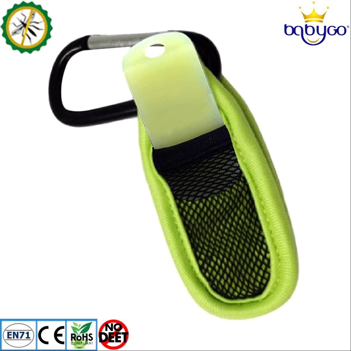 Babygo Neoprene Clip Mosquito Repellent Green (klip Anti Nyamuk)