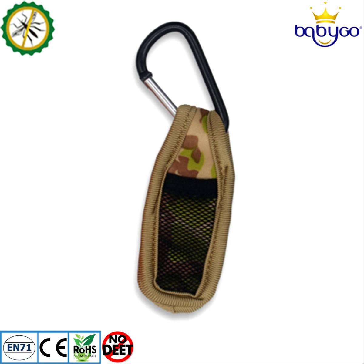 Babygo Neoprene Clip Mosquito Repellent Camouflage (klip Anti Nyamuk) Army