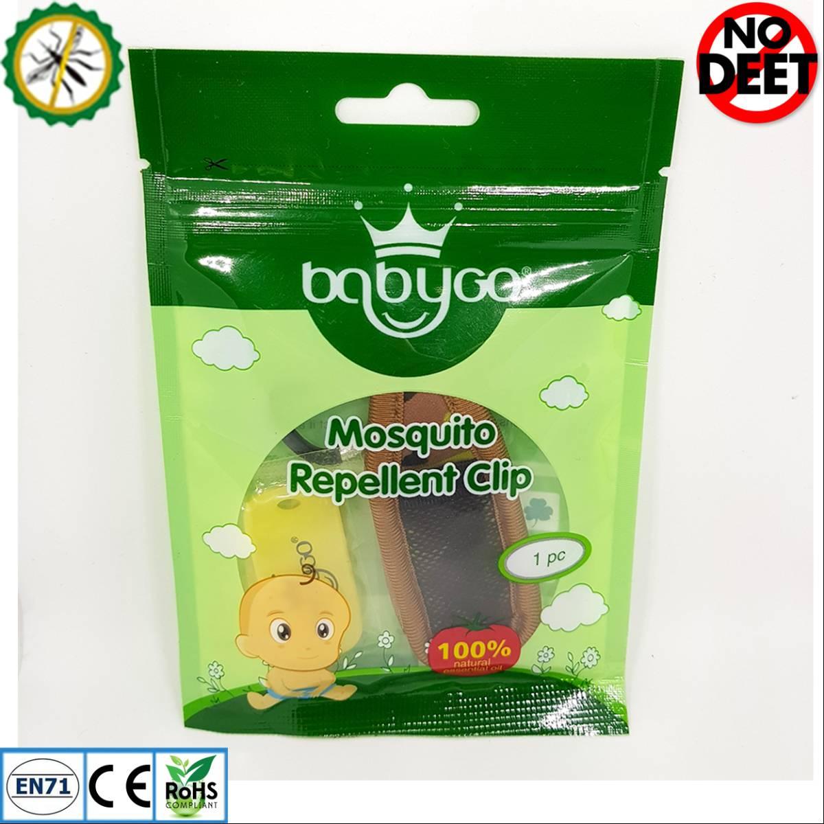 Babygo Neoprene Clip Mosquito Repellent Camouflage (klip Anti Nyamuk) Army1