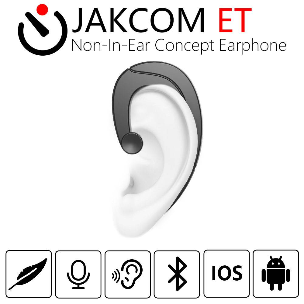 Jakcom Et Non-in-ear Concept Earphone Bluetooth Wireless Headset Bone Conduction Technolog...