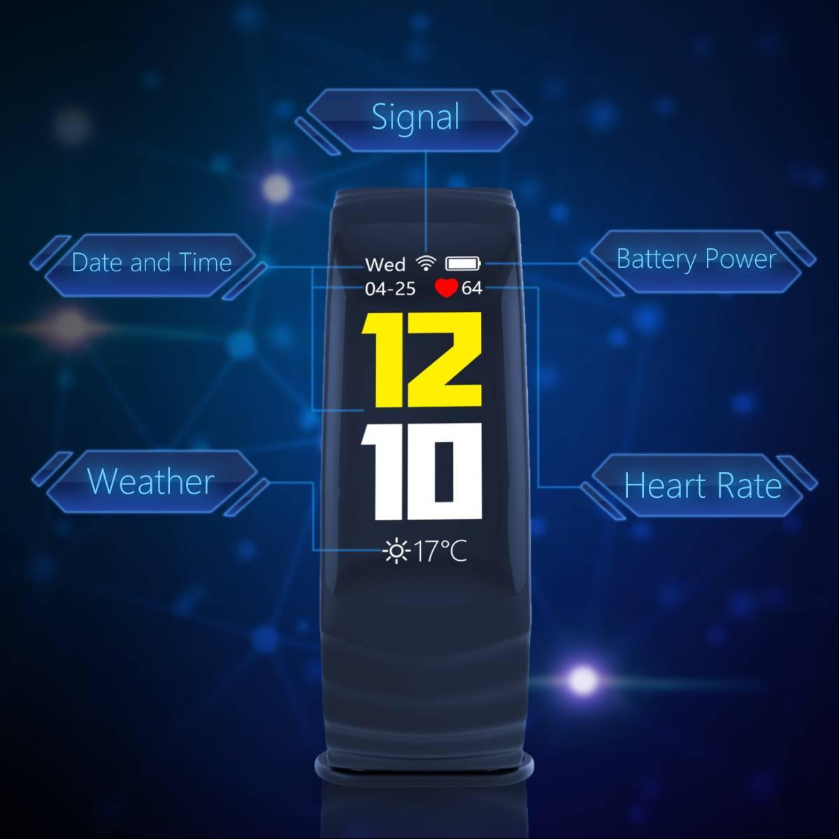 Jakcom P2 Professional Smart Sport Watch Health Smartwatch Jam Pintar Kesehatan Olahraga Fitness1