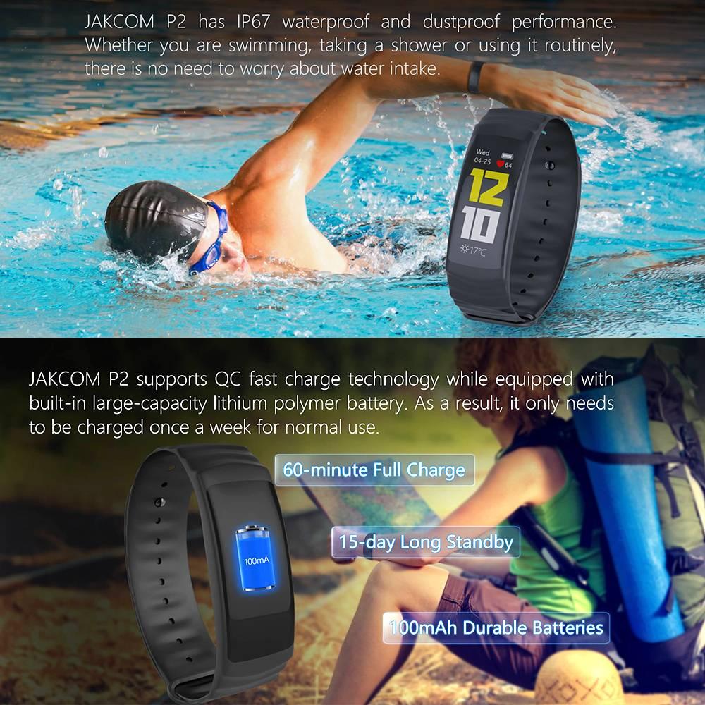 Jakcom P2 Professional Smart Sport Watch Health Smartwatch Jam Pintar Kesehatan Olahraga Fitness2