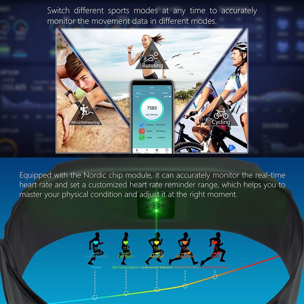Jakcom P2 Professional Smart Sport Watch Health Smartwatch Jam Pintar Kesehatan Olahraga Fitness4