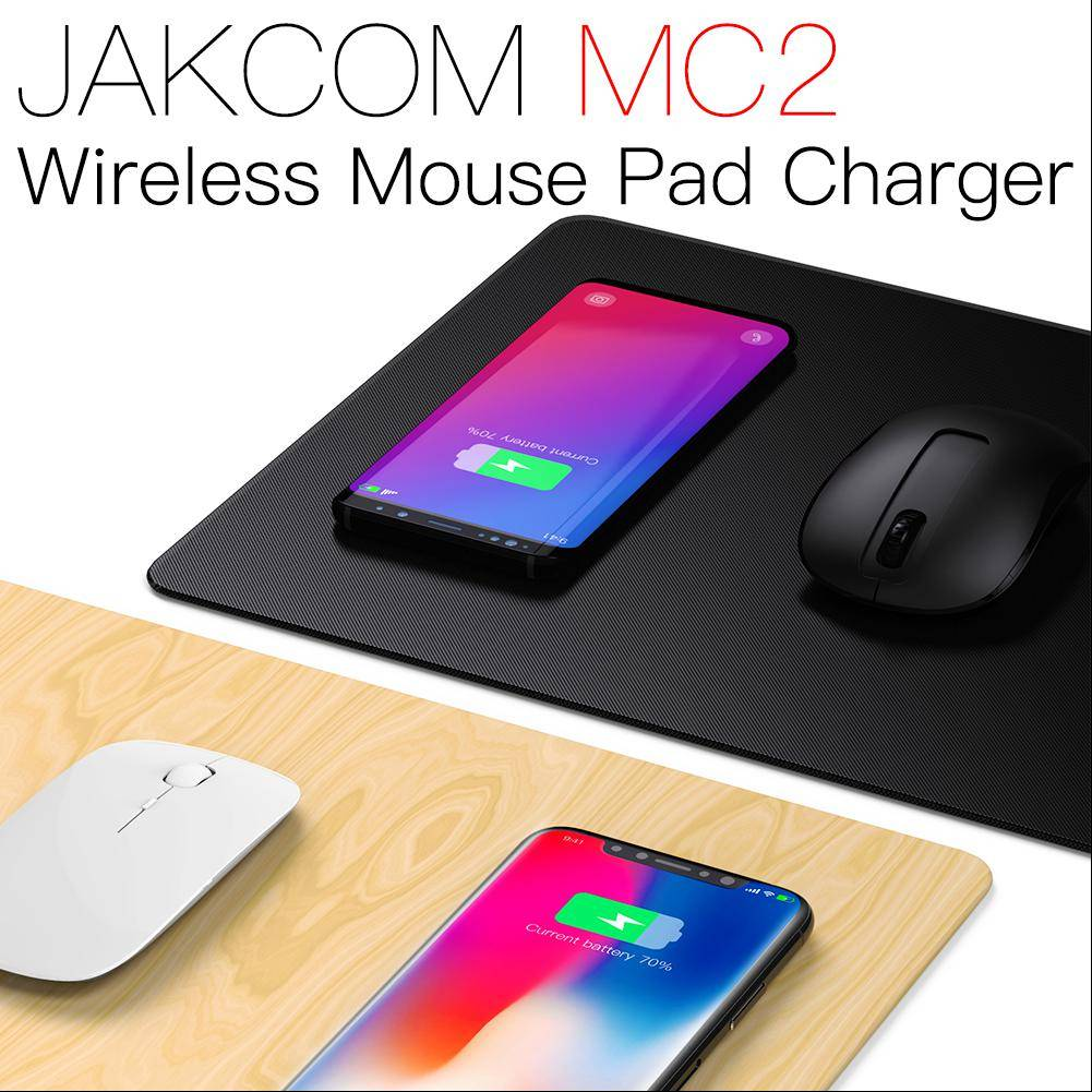 Jakcom Mc2 Wireless Mouse Pad Fast Charger Nirkabel Qi Tatakan Alas Mousepad