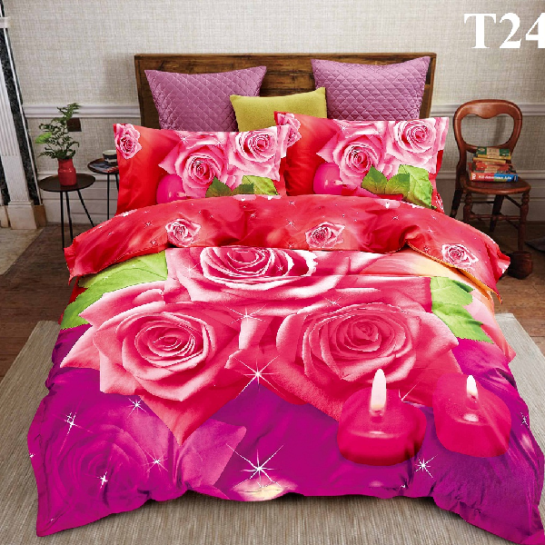 Sprei Katun Jepang Import Ready Stock Bunga Mawar