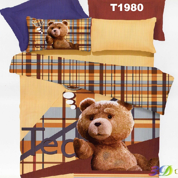 Sprei Katun Jepang Import Ready Stock Bear