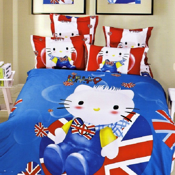 Sprei Katun Jepang Import Ready Stock Hello Kitty 02