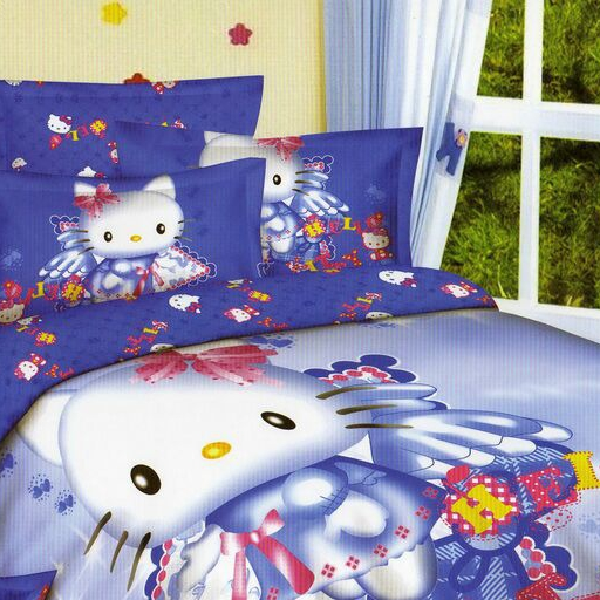 Sprei Katun Jepang Import Ready Stock Hello Kitty