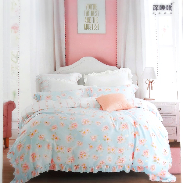 Sprei Sutra Organik Tencel Motif Shabby Shabby
