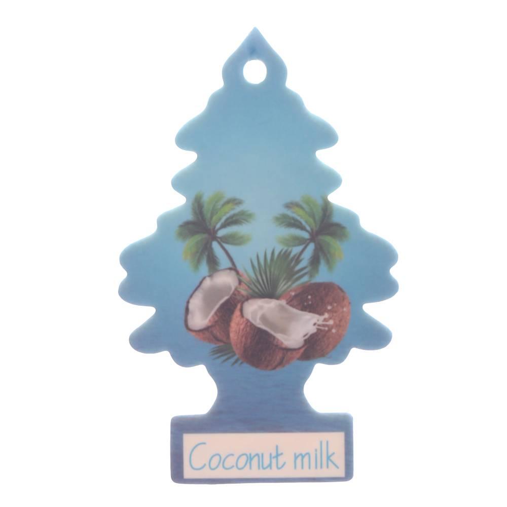 Iperfume Glxs Hanging Paper Car Perfume / Parfum Pewangi Mobil Kertas - Coconut Milk1