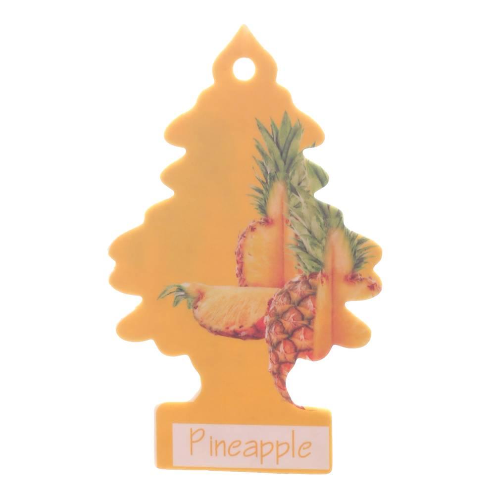 Iperfume Glxs Hanging Paper Car Perfume / Parfum Pewangi Mobil Kertas - Pineapple1