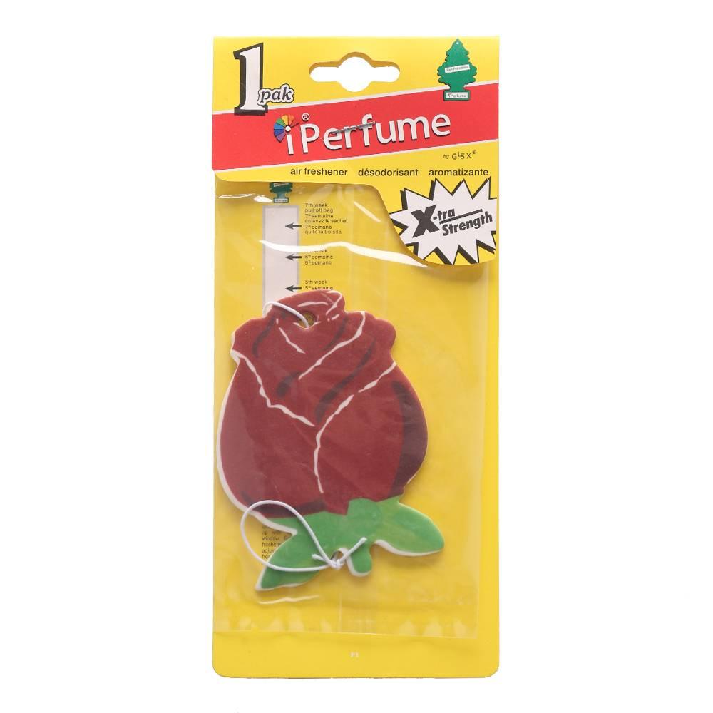 Iperfume Glxs Hanging Paper Car Perfume / Parfum Pewangi Mobil Kertas - Rose