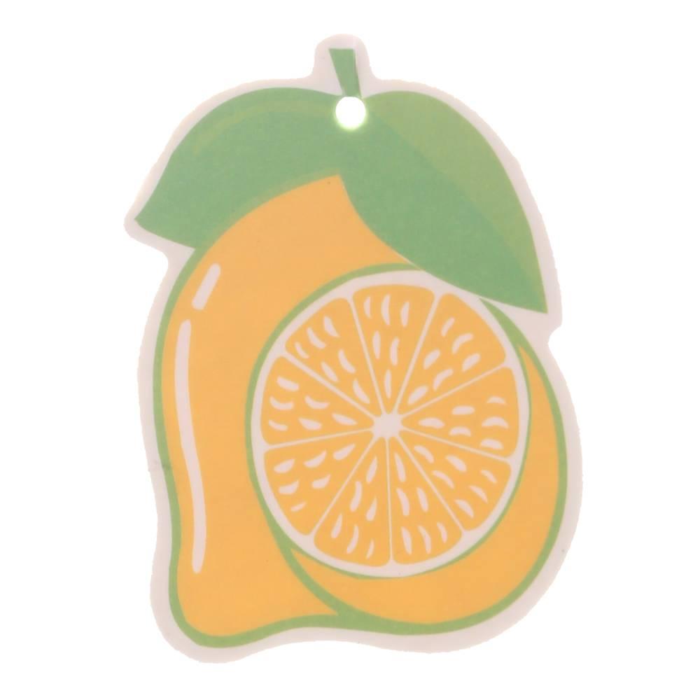Iperfume Glxs Hanging Paper Car Perfume / Parfum Pewangi Mobil Kertas - Lemon Model 21