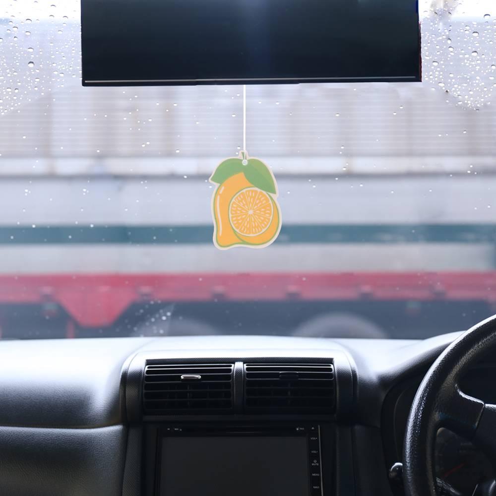 Iperfume Glxs Hanging Paper Car Perfume / Parfum Pewangi Mobil Kertas - Lemon Model 22