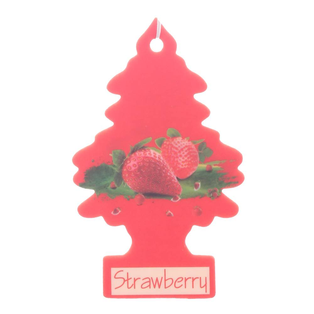 Iperfume Glxs Hanging Paper Car Perfume / Parfum Pewangi Mobil Kertas - Strawberry1