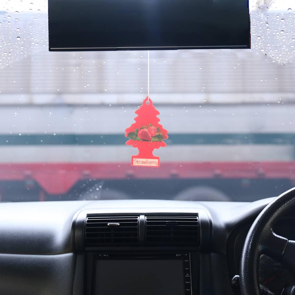 Iperfume Glxs Hanging Paper Car Perfume / Parfum Pewangi Mobil Kertas - Strawberry2