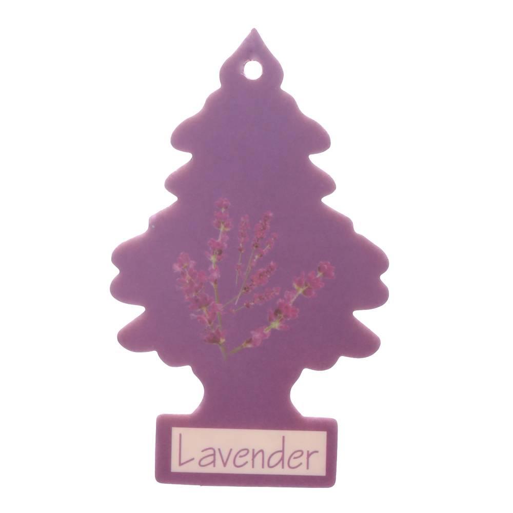 Iperfume Glxs Hanging Paper Car Perfume / Parfum Pewangi Mobil Kertas - Lavender1