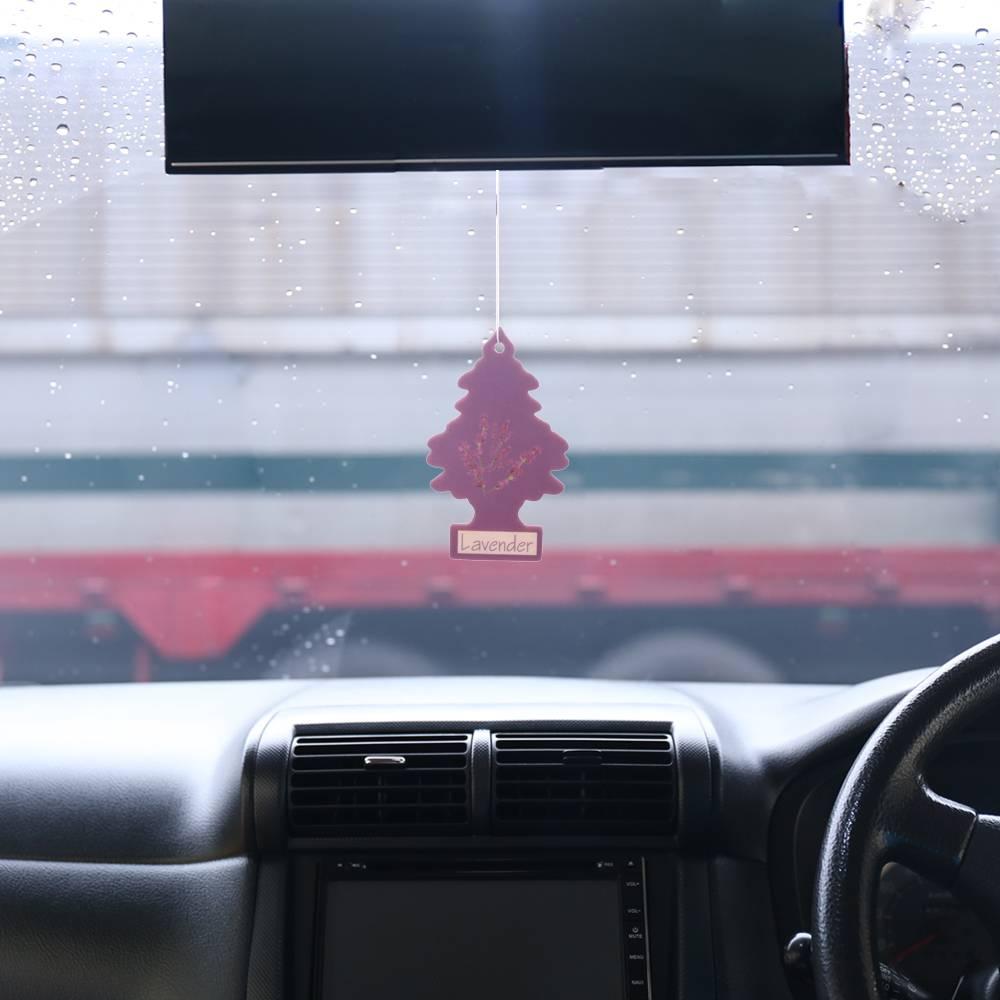 Iperfume Glxs Hanging Paper Car Perfume / Parfum Pewangi Mobil Kertas - Lavender2