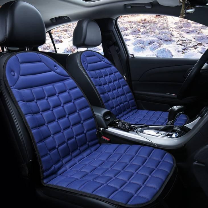 12v Electric Heating Car Seat Cover Bantal Penghangat Kursi Jok Mobil - 4 Warna1