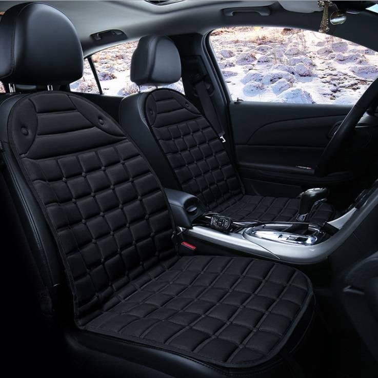 12v Electric Heating Car Seat Cover Bantal Penghangat Kursi Jok Mobil - 4 Warna2