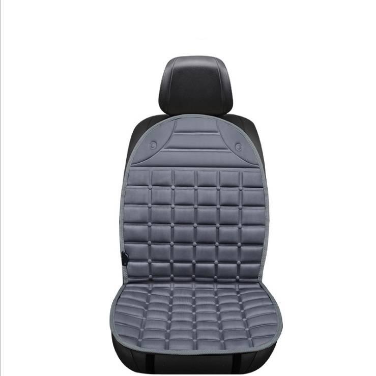 12v Electric Heating Car Seat Cover Bantal Penghangat Kursi Jok Mobil - 4 Warna4