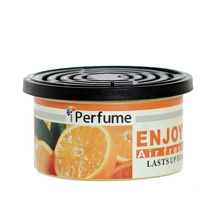 Iperfume Nikmati Penyegar Udara / Parfum Pewangi Mobil Kaleng - Orange