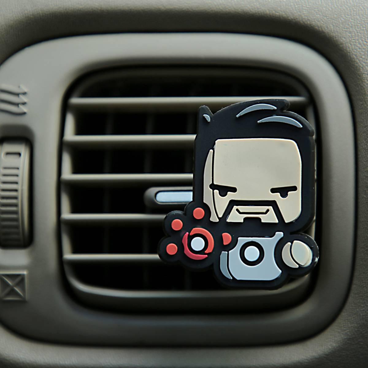 Sale - Car Perfume Vent Clip / Parfum Pewangi Mobil Superhero - Tony Stark4