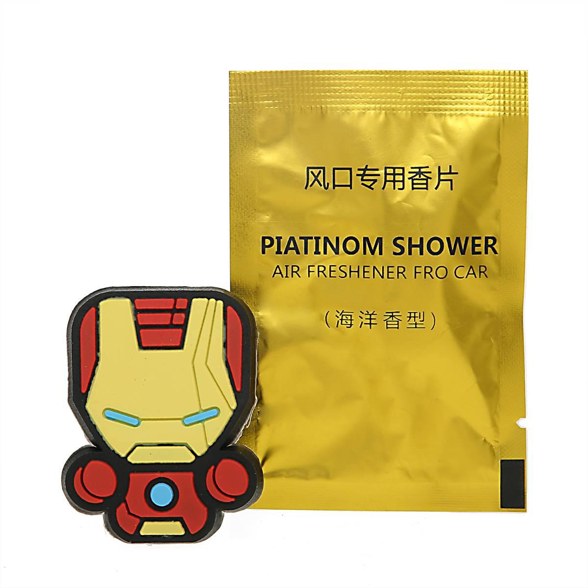 Sale - Car Perfume Vent Clip / Parfum Pewangi Mobil Superhero - Iron Man1