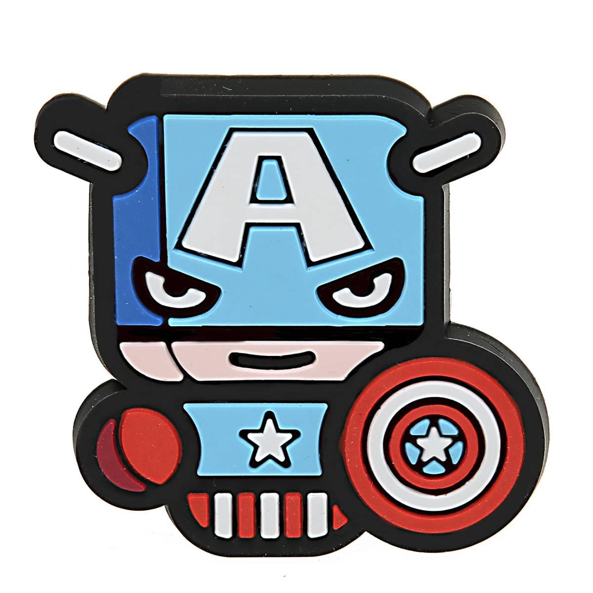 Sale - Car Perfume Vent Clip / Parfum Pewangi Mobil Superhero - Captain America